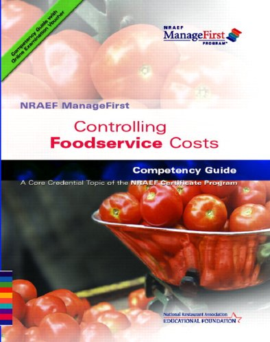ManageFirst Controlling Food Service Costs with on-Line Testing Access Code Card and Test Prep   2009 9780135072141 Front Cover