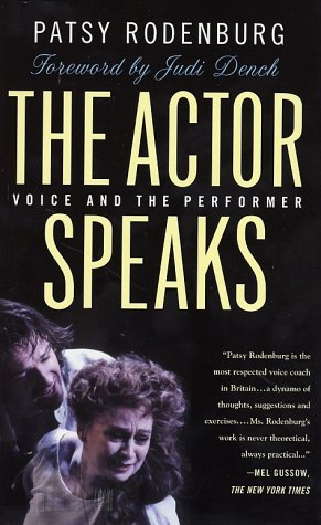 Actor Speaks Voice and the Performer  2002 (Revised) edition cover