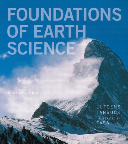 Foundations of Earth Science  7th 2014 edition cover
