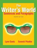 Writer's World Sentences and Paragraphs 4th 2015 edition cover