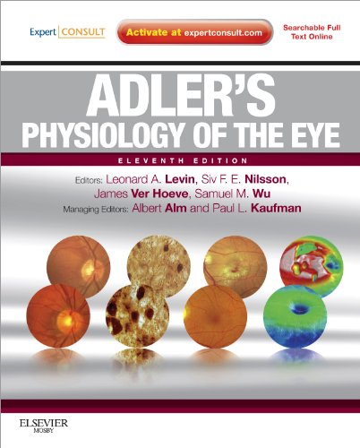 Adler's Physiology of the Eye  11th 2010 edition cover