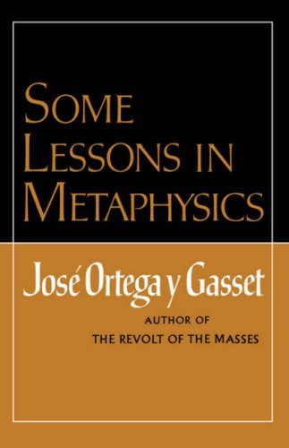 Some Lessons in Metaphysics   1969 edition cover