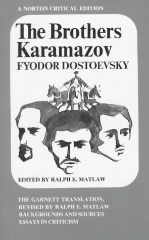 Brothers Karamazov  N/A edition cover