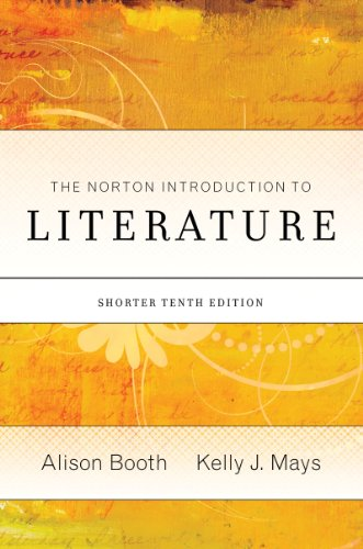 Norton Introduction to Literature  10th 2010 edition cover