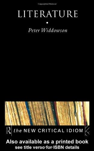 Literature   1998 edition cover