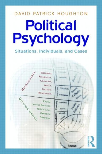 Political Psychology Situations, Individuals, and Cases  2009 edition cover