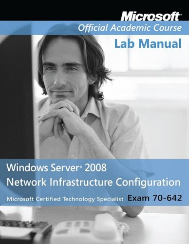 Windows Server 2008 Network Infrastructure Configuration Exam 70-642  2009 edition cover