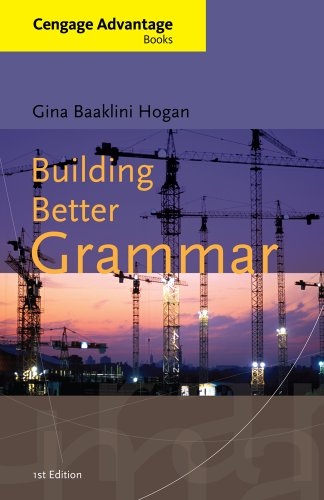 Building Better Grammar   2013 edition cover