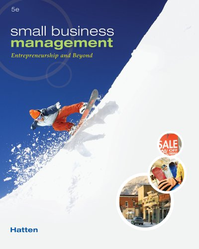 Small Business Management Entrepreneurship and Beyond 5th 2012 9780538453141 Front Cover