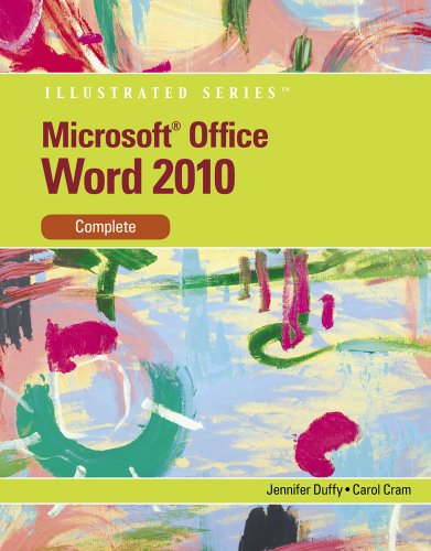 Microsoft� Word 2010 Complete  2011 9780538747141 Front Cover