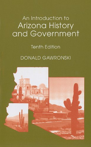 Introduction to Arizona History and Government  10th 2011 edition cover