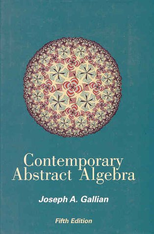 Contemporary Abstract Algebra  5th 2002 edition cover