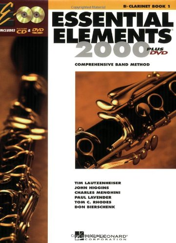 Essential Elements for Band Bb Clarinet N/A edition cover