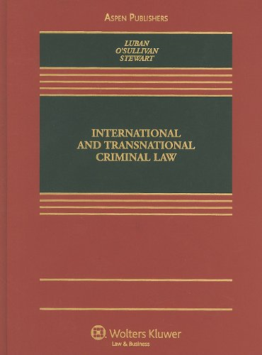 International and Transnational Criminal Law   2010 edition cover