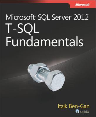 Microsoft SQL Server 2012 T-SQL Fundamentals   2013 edition cover