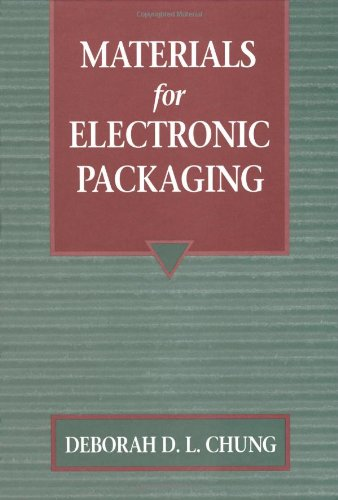 Materials for Electronic Packaging   1995 9780750693141 Front Cover