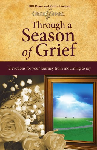 Through a Season of Grief Devotions for Your Journey from Mourning to Joy  2004 edition cover
