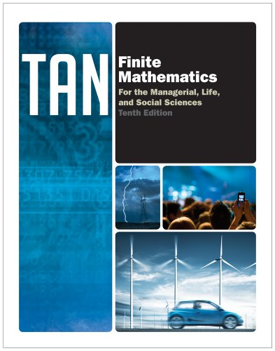 Finite Mathematics for the Managerial, Life, and Social Sciences  10th 2012 edition cover