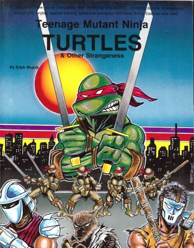Teenage Mutant Ninja Turtles and Other Strangeness N/A 9780916211141 Front Cover