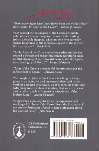 Collected Works of St. John of the Cross Revised edition cover