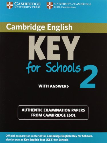 Cambridge English. Key for Schools. Student's Book. With Answers. Per le Scuole Superiori. Con Espansione Online   2012 9781107603141 Front Cover