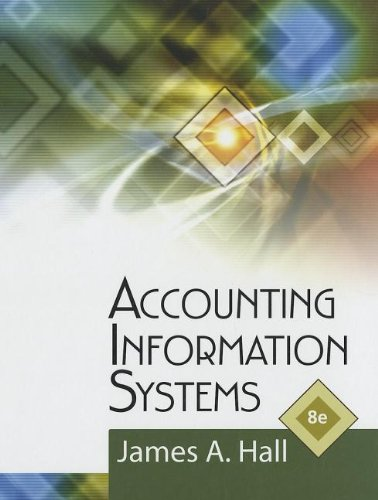 Accounting Information Systems  8th 2013 edition cover