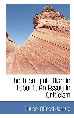 Treaty of Misr in Tabari : An Essay in Criticism N/A 9781113486141 Front Cover