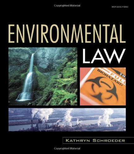 Environmental Law   2008 9781401857141 Front Cover