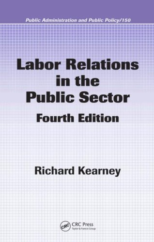 Labor Relations in the Public Sector  4th 2008 (Revised) edition cover