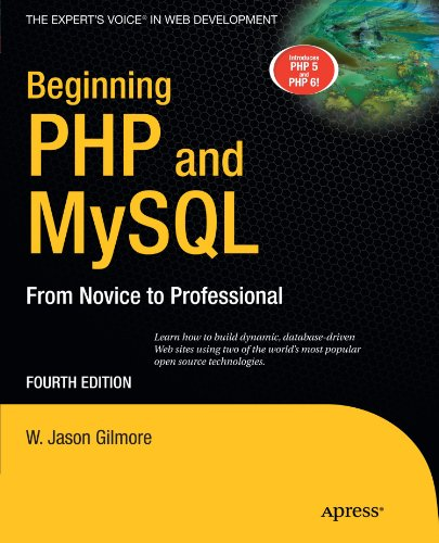 Beginning PHP and MySQL  4th 2010 9781430231141 Front Cover