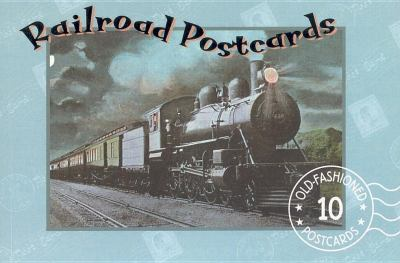 Railroad Postcard Book  N/A 9781557093141 Front Cover