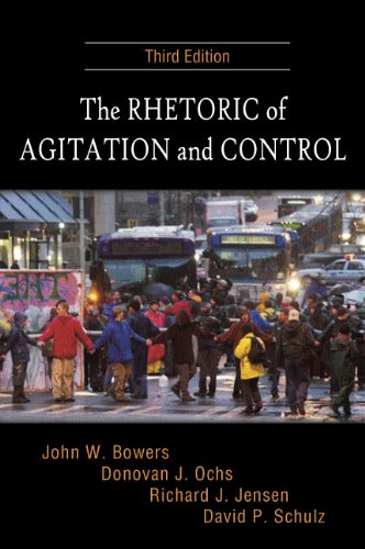 Rhetoric of Agitation and Control  3rd edition cover