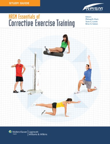 Study Guide to Accompany NASM Essentials of Corrective Exercise Training   2010 edition cover
