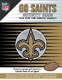 Go Saints Activity Book  N/A 9781941788141 Front Cover
