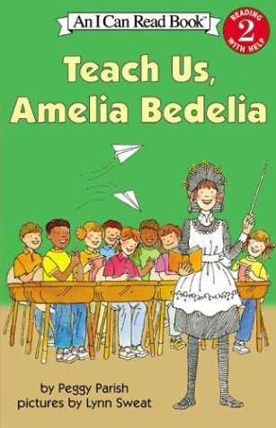 Teach Us, Amelia Bedelia   1977 edition cover