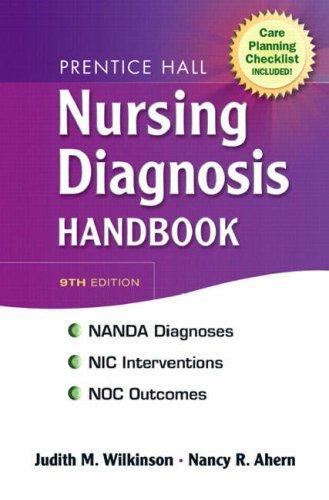 Nursing Diagnosis Handbook  9th 2009 9780138131142 Front Cover