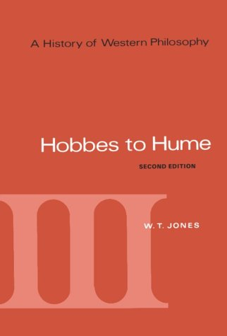 Hobbes to Hume  2nd 1969 (Revised) edition cover
