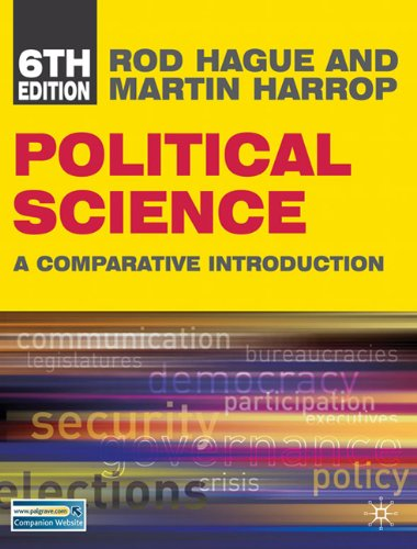 Political Science A Comparative Introduction 6th edition cover