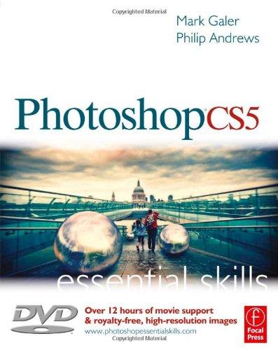 Photoshop CS5 Essential Skills  2010 edition cover