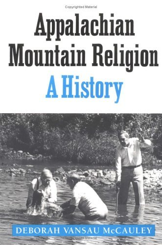 Appalachian Mountain Religion A History N/A edition cover