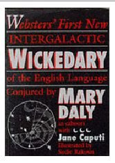 Websters' First Intergalactic Wickedary of the English Language   1988 edition cover