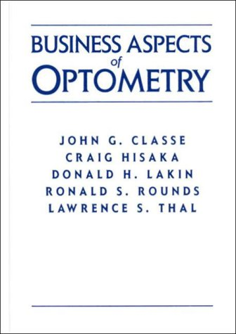 Business Aspects of Optometry   1997 9780750696142 Front Cover