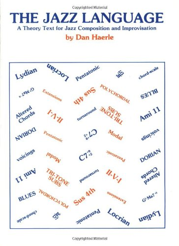 Jazz Language A Theory Text for Jazz Composition and Improvisation  1982 edition cover