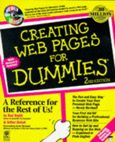 Creating Web Pages for Dummies  2nd 1997 9780764501142 Front Cover