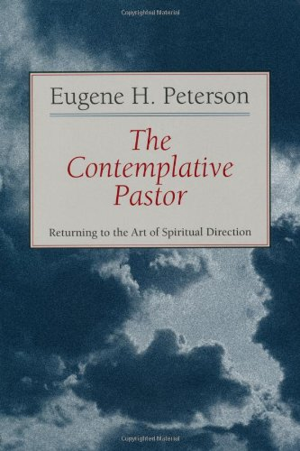Contemplative Pastor Returning to the Art of Spiritual Direction  1993 edition cover