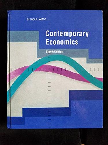 Contemporary Economics 8th edition cover