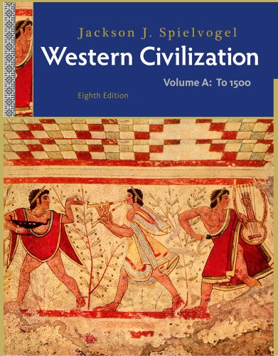 Western Civilization To 1500 8th 2012 edition cover