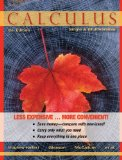 Calculus: Single and Multivariable  2012 edition cover