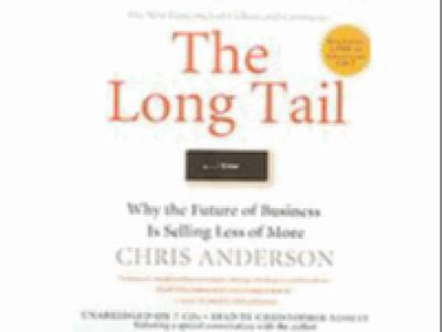Long Tail : Why the Future of Business Is Selling Less of More Unabridged 9781401384142 Front Cover