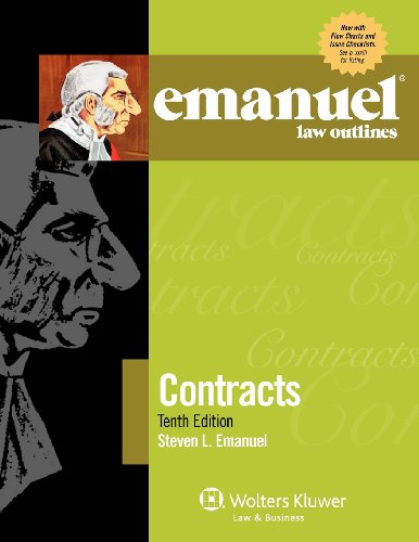 Contracts  10th 2012 (Student Manual, Study Guide, etc.) edition cover